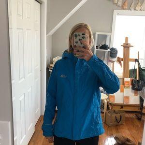 Blue North Face Light Rain Jacket